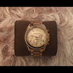 Michael Kors Blair Chronograph Watch $275